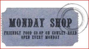 Monday shop